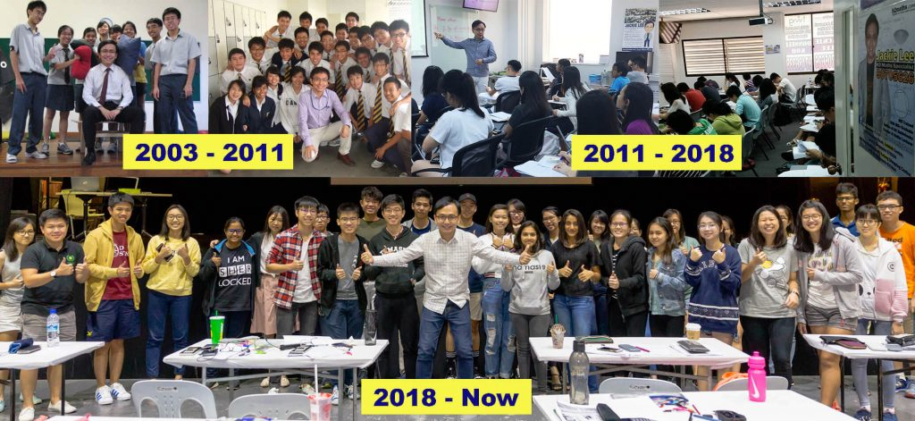 Mr Jackiee Lee from 2003 till now