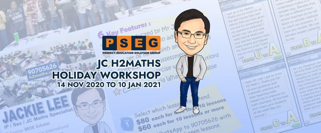 JC H2Maths Holiday Workshop