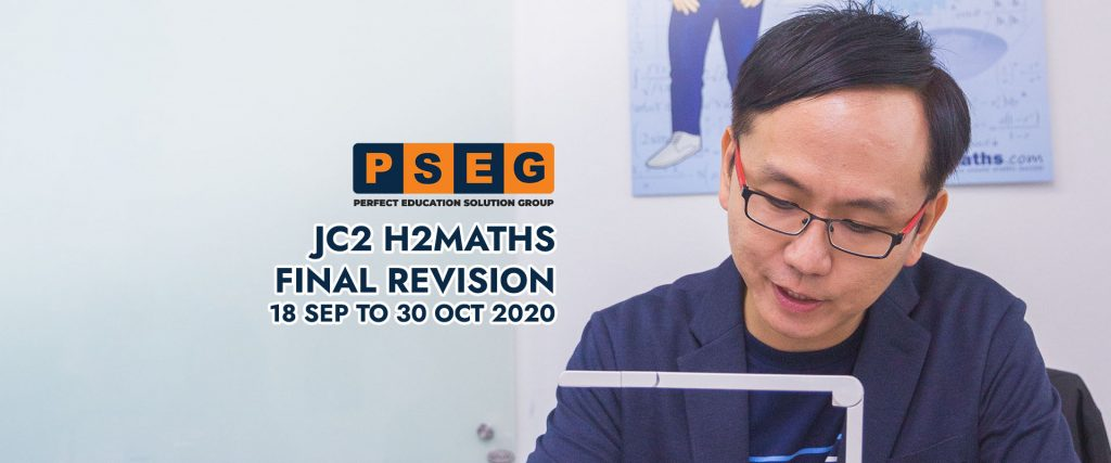 JC2 H2Maths Final Revision 2020