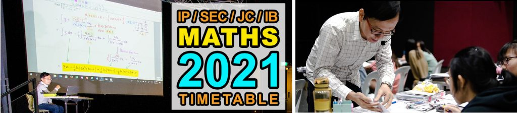2021 Mathematics Term 1 & 2 Lesson Schedule!