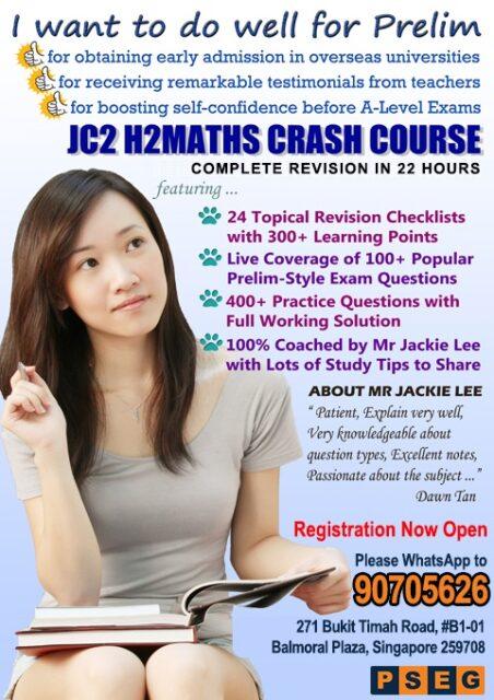JC2 Term 3 Crash Course