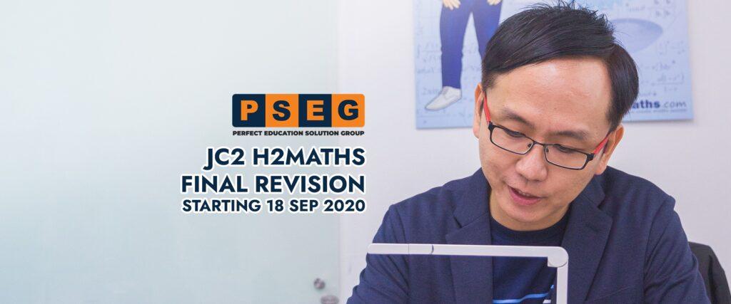 JC2 H2Maths Final Revision 2021